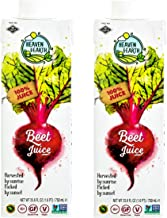 Heaven & Earth, Beet Juice, 25.6oz (2 Pack) 100% Juice!