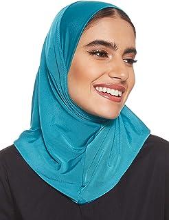 SHADOW Women's Stretch Hijab Muslim Islamic Arab Scarf Headscarf Abaya Cap, Large
