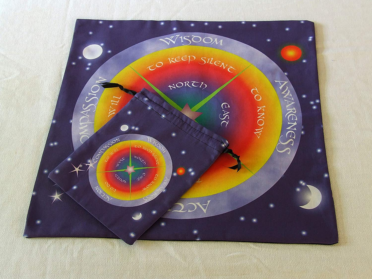 Tarot Set - or Altar Cloth Four 40% OFF Cheap Sale Powers with Bag- Sale item Matching