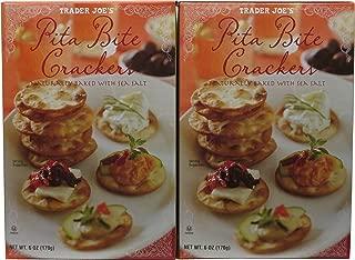 Trader Joe's Pita Bite Crackers (Pack of 2)