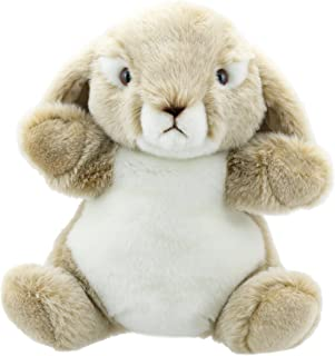 The Puppet Company Cuddly Tumms Wild Rabbit Hand Puppet