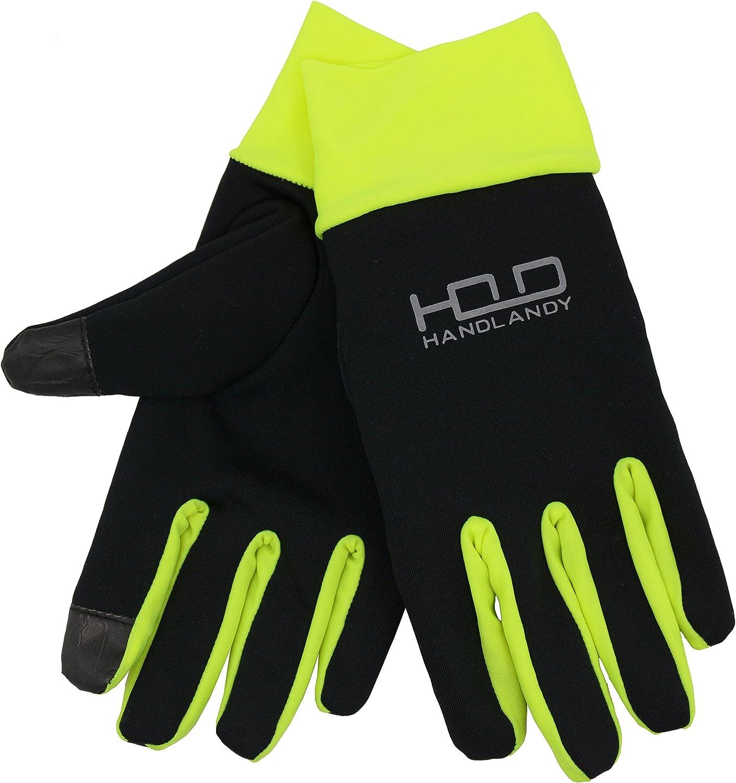 HANDLANDY Lightweight Running Gloves Touchscreen Jogging Gloves for Women /& Men