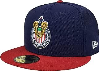 NEW ERA 59Fifty Hat Dorados de Sinaloa Soccer D Liga Mexicana Black Fitted Cap