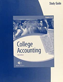College Accounting Study Guide Chapters 10-15 (With working papers)