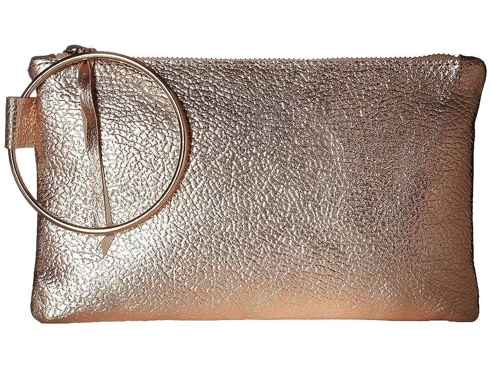 ABLE Fozi Wristlet (Rose Metallic) Handbags
