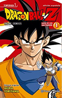 Dragon Ball Z Anime Series Saiyanos nº 01/05