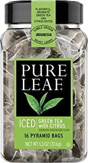 Pure Leaf Green Tea Bags with Citrus, 16 ct