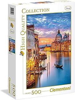 Clementoni Puzzle High Quality Collection Lightening Venice 500 Pieces, multicolor, 35056, 6800000238