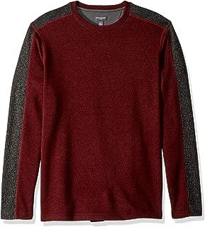Van Heusen Men's Flex Sweater Fleece Long Sleeve Stretch Crew Neck Pullover