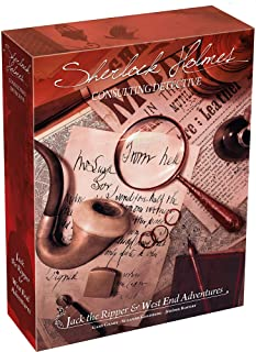 Space Cowboys Sherlock Holmes Consulting Detective - Vol 2 Jack The Ripper and West End Adventures Board Game
