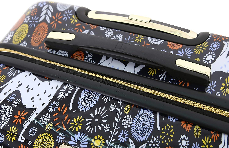 HALINA Vicky Yorke Urban Jungle Dogs 3 Piece Set Luggage Multicolor One Size