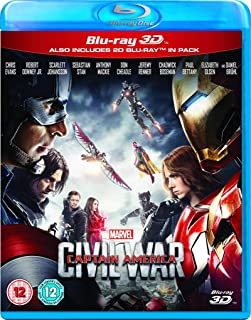 Captain America: Civil War [3D Blu-ray + Blu-ray]