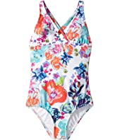 Splendid Littles - Printed Halter One-Piece (Big Kids)