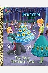 The Best Birthday Ever (Disney Frozen) (Little Golden Book) Kindle Edition