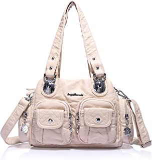 Satchel Purses for Women, Ultra Soft Vegan Leather Purses and Handbags,Tote Purse