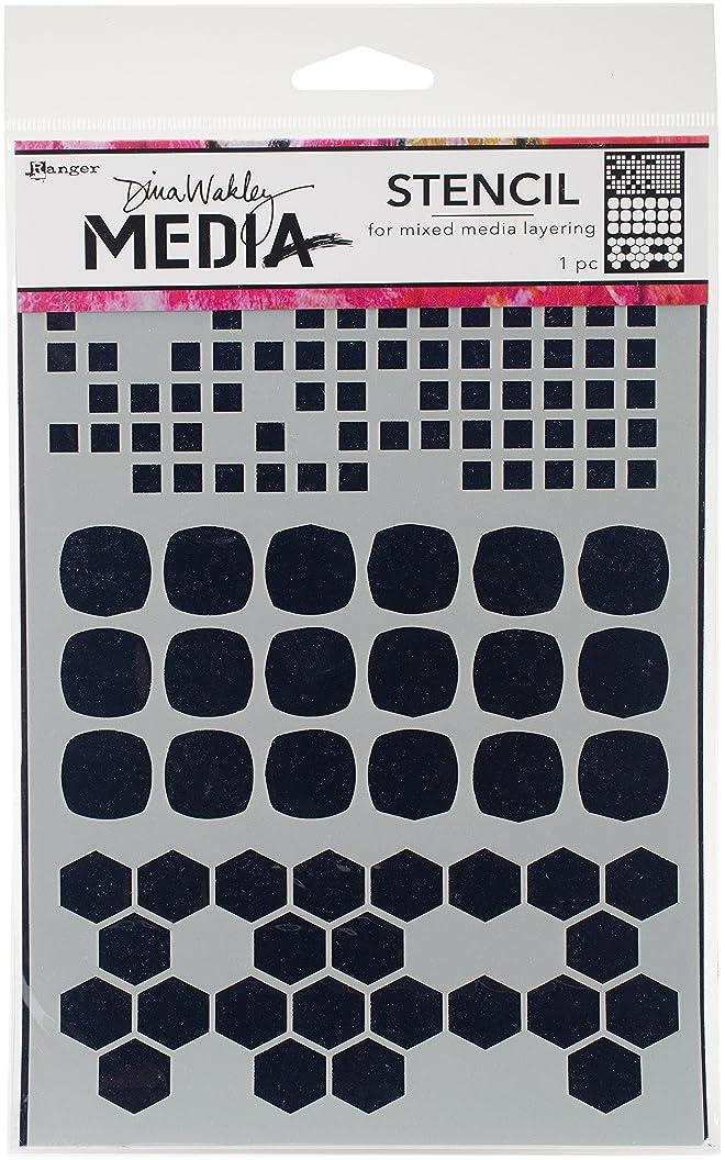 Ranger MDS58298 Dina Wakley Media Stencils 9
