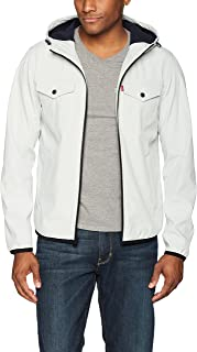 Men's Lightweight Hooded Softshell Trucker Jacket