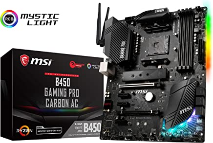 MSI Performance Gaming AMD Ryzen 1st and 2nd Gen AM4 M.2 USB 3 DDR4 HDMI Display Port WiFi Crossfire ATX Motherboard