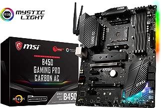 msi b450 gaming pro carbon ac wifi