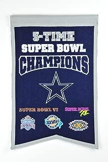 NFL Dallas Cowboys Super Bowl Champions Banner