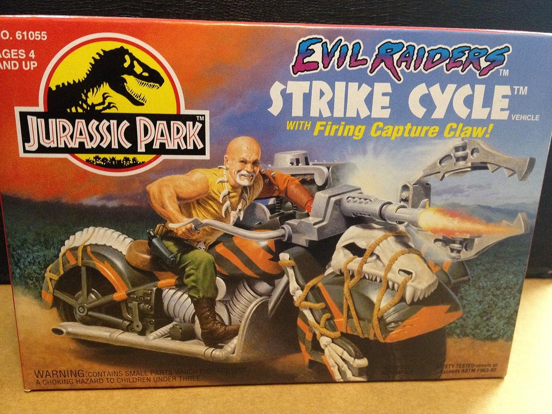 Jurassic Park Evil Raiders Strike Cycle by Kenner