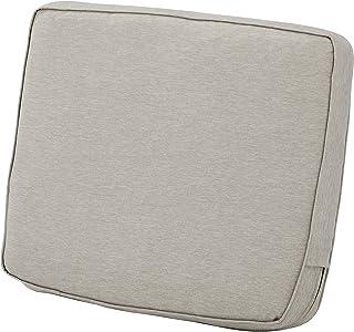 Classic Accessories Montlake Back Cushion Foam & Slip Cover, Heather Grey, 23x20x4 Thick