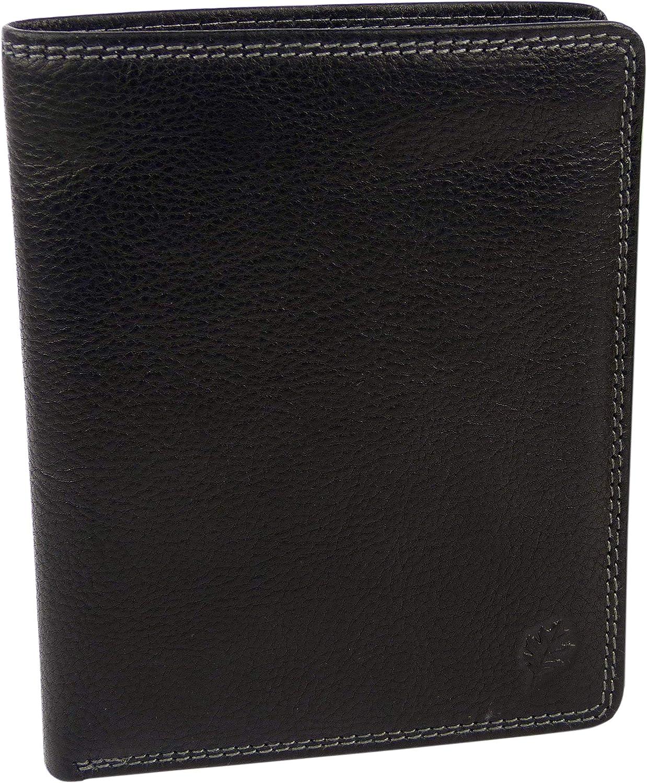 Golunski – Brieftasche Leder braun braun braun schwarz oder braun – Packs Verpackung 17 Spalten von Karten-Guthaben – Packs Verpackung – NEU für Herren B0086W2R14 | Deutschland Berlin  26184a