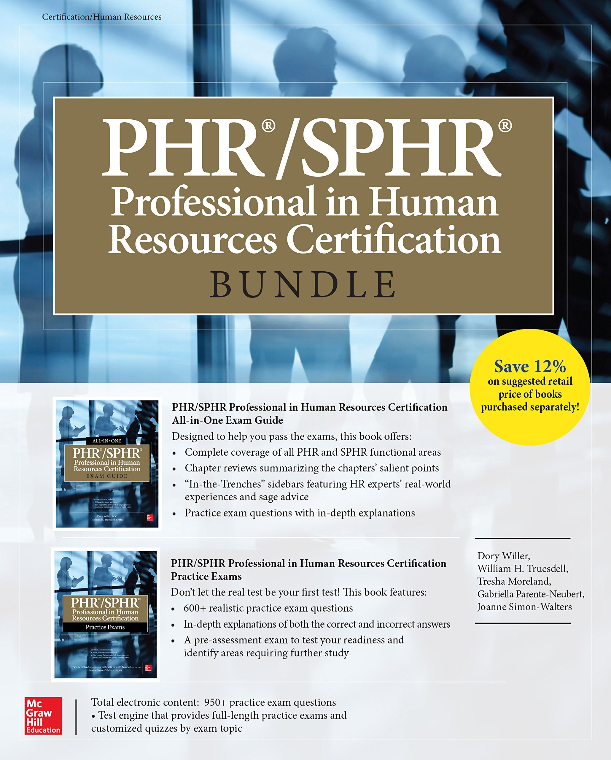Image OfPHR/SPHR Professional In Human Resources Certification Bundle (All-in-One) (English Edition)