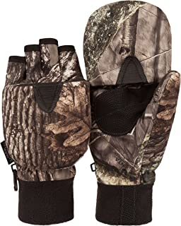 Men's Hunting HIDD'N Camo Extreme Cold Pop-Top Glove