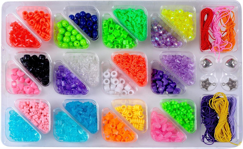 pinkArt Bright and Bold Beads Jewelry Set