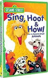Sing, Hoot, & Howl with Sesame St DVD