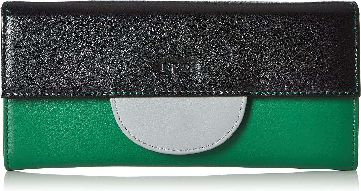 BREE Women's 367110 Wallet Multicolour Mehrfarbig (Slate Green) UK One Size