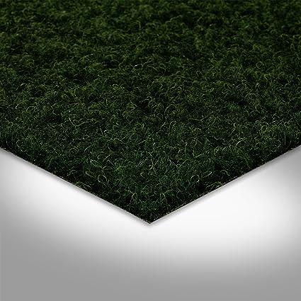 300 x 400 cm 6/€//m/² mit Noppen anthrazit // schwarz 400 cm breite Fertigrasen Balkon Kunstrasen