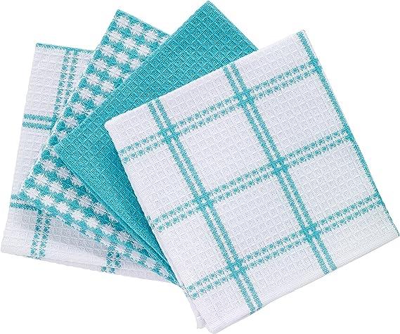 T-fal Textiles Cotton Flat Waffle Dish Cloth