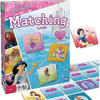 Wonder Forge Disney Princess Matching Game For Girls & Boys Age 3 To 5 - A Fun & Fast Princess Memory Game,Original Version