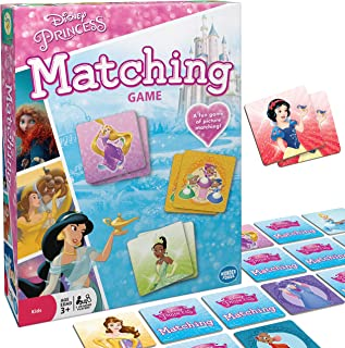 Wonder Forge Disney Princess Matching Game For Girls & Boys Age 3 To 5 - A Fun & Fast Princess Memory Game