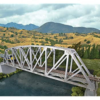 Life Like 933-4510 Walthers SceneMaster Modernized Double-Track Railroad Truss Bridge Kit Collectable Train Walthers