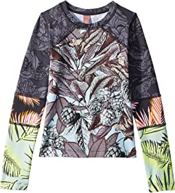 Lost City Long Sleeve Rashguard (Toddler/Little Kids/Big Kids)