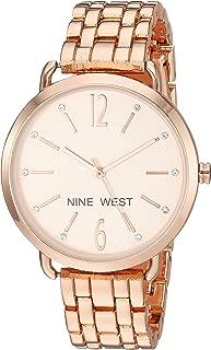 Nine West - Reloj de brazalete, para mujer con detalles de vidrio