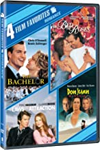 4 Film Favorites: New Line Romantic Comedies (The Adventures of Don Juan / The Bachelor / Bed of Roses / Laws of Attraction)