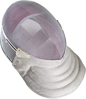 American Fencing Gear Fencing Sabre Mask CE350N Certified National Grade Including Head Wire (Mask Cord)