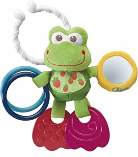 Chicco Stroller Toy - First Activities Frog, 200 Grams