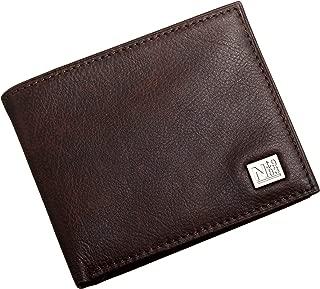 Nautica  Mens Wallet, Card Case & Money Organizer, Brown, 14 31NU22X030