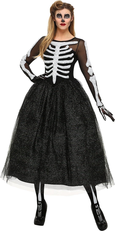 Woherren Skeleton Beauty Plus Größe Fancy dress costume 1X