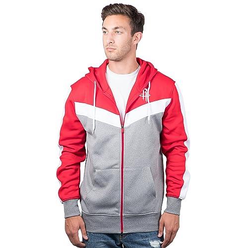 956699492 UNK NBA Men s Full Zip Hoodie Sweatshirt Back Cut Jacket