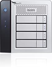 Promise Technology R4 Enclosure with 4x2TB SATA Drives Power Cable, Product CD and Quick Start Guide (PR402US)