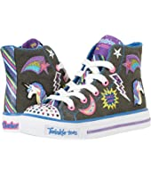 SKECHERS KIDS - Twinkle Toes - Shuffles 10776L Lights (Little Kid/Big Kid)