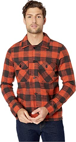 Slubby Buffalo Check - Red