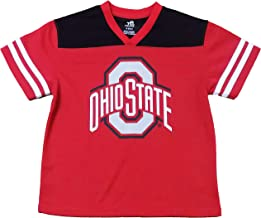 Outerstuff Ohio State Buckeyes Red Youth Team Apparel V Neck Jersey