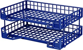 Lep Office filing trays collapsible Set2 Blue
